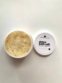 Detox Bath Salts- Tea Tree & Grapefruit by Naga Earth