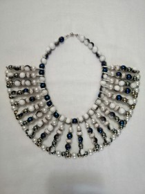 Sebaga Statement Necklace (Blue)